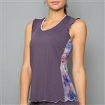 Denise Cronwall Tank Top - Mystical Violet