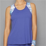 Denise Cronwall Tank Top - Scotia Blue