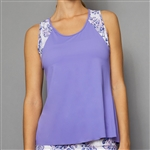 Denise Cronwall Tank Top - Serenity Lilac