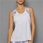Denise Cronwall Tank Top - Serenity White
