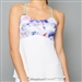 Denise Cronwall Spaghetti Strap Top - Mystical, White