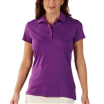 Bobby Jones Supreme Cotton Solid Twilight Purple Polo