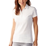 Bobby Jones Supreme Cotton Solid White Polo