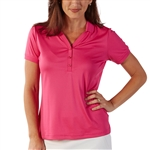 Bobby Jones Tech Flamingo Short Sleeve Polo