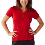Bobby Jones Tech Rio Red Short Sleeve Polo