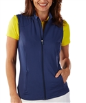 Bobby Jones Summer Navy Tech Golf Vest