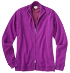 Bobby Jones Lined Wind Sweater - Twilight Purple
