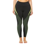 SHAPE PLUS Active Caviar/Duffle Shadow Legging