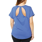 SHAPE PLUS Rock Steady Dazzle Blue Tee