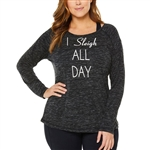 SHAPE PLUS Performance Top - Sleigh All Day