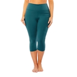 SHAPE PLUS S-Seam Sea Pine Fitness Capri