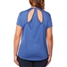 SHAPE PLUS Rock Steady Tee - Bijou Blue