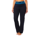 "SHAPE PLUS Active Everyday 33"" Pant - Caviar Black"