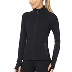SHAPE Black Training Stretch Jacket