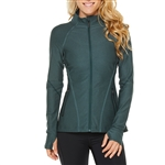 SHAPE Training Stretch Jacket - Green Gables Granite