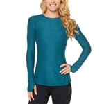 SHAPE Movement Long Sleeve Fitness Top - Heather