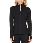SHAPE Courtship Textured Jacket  - Caviar Black