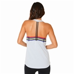SHAPE Cage Muscle Tank - Halogen