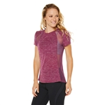 SHAPE Half Time Tee - Magenta Purple