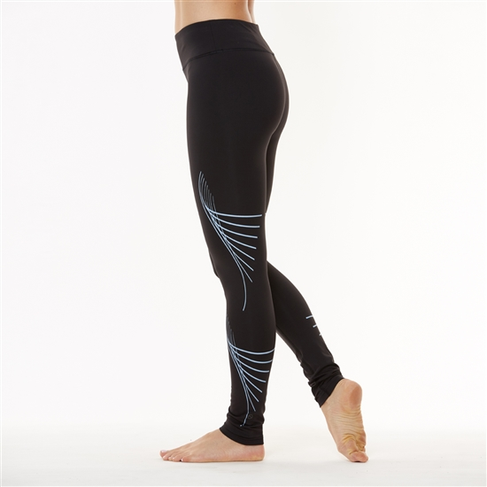 SHAPE Ombre Vortex Legging - Glow In The Dark
