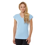 SHAPE Cap Sleeve Mystique Tee - Placid Blue