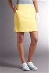 Swing Control Basic Tee Time Golf Skort - Yellow