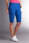 Swing Control Basic Resort Golf Short - Electric Blue