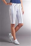 Swing Control Basic Resort Golf Short - Soft Stripe