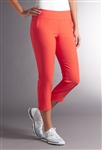 Swing Control Basic Fairway Crop Pant - Orange