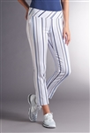 Swing Control Basic Eagle Ankle Pant - Soft Stripe