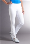 Swing Control Basic Slim White Pant