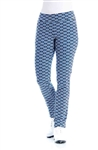 Swing Control Basic Slim Retro Blue Golf Pant