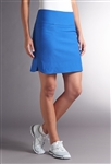 Swing Control Masters Golf Skort - Electric Blue