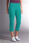 Swing Control Snap Masters Crop Pant - Capri Sea