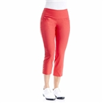 Swing Control Snap Masters Crop Pant - Coral