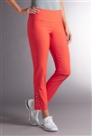 Swing Control Grommet Masters Orange Ankle Pant