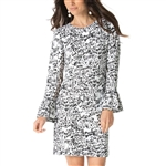 IBKUL Kenya UPF50 Bell Sleeve Dress