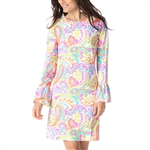 IBKUL Pippa UPF50 Bell Sleeve Dress