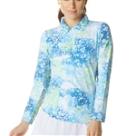 IBKUL Splash Blue UPF 50 Sun Shirt