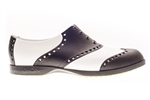 BIION Classics Golf Shoe - Black & White