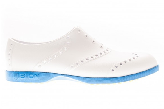 BIION Brights Golf Shoe - White/Blue
