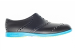 BIION Brights Golf Shoe - Black & Neon Blue
