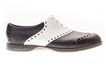 BIION Saddle Golf Shoe - White/Black