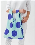 BAGGU Reusable Shopping Bag - Mint Big Dot