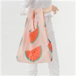 BAGGU Reusable Shopping Bag - Peach Watermelon