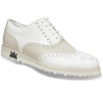 Lambda Leather Golf Shoe - Imola Biege