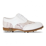 Lambda Leather Golf Shoe - Venezia Silver