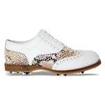 Lambda Leather Golf Shoe - Venezia Gold