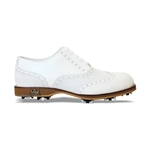Lambda Venezia Leather Golf Shoe - White