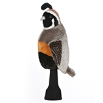 Daphne's Quail Golf Headcover